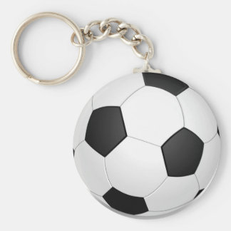 Football - Soccer Ball Porte-clef
