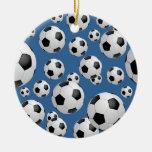 Football Soccer Balls Ornament
