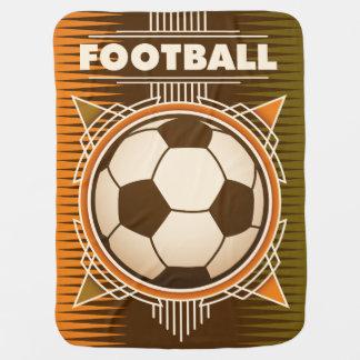 Football Soccer Sport Ball Baby Blanket