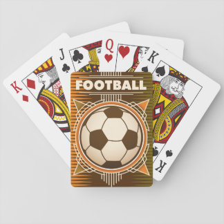 Football Soccer Sport Ball Playing Cards