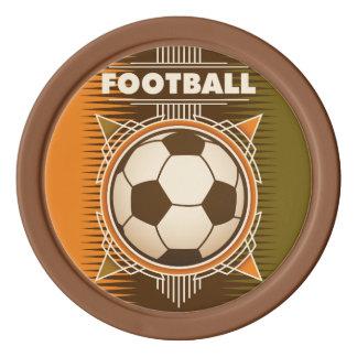 Football Soccer Sport Ball Poker Chips