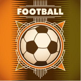 Football Soccer Sport Ball Standing Photo Sculpture