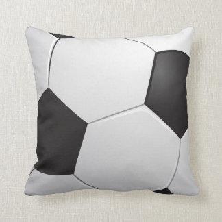 Football Soccer Throw Pillow