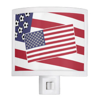 Football Soccer USA Flag Nite Lite