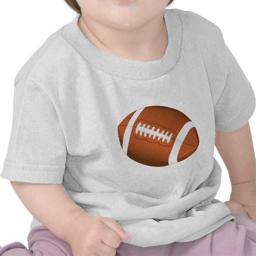 Football Sports Ball Team Game Playing Stars Coach Tee Shirt