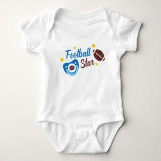 Football Star baby bodysuit