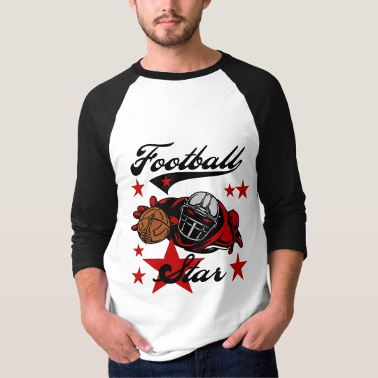 Football Star T-shirts and gifts