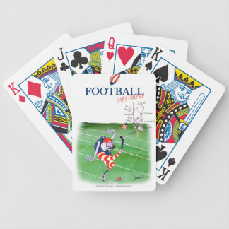 Football stay focused, tony fernandes bicycle playing cards