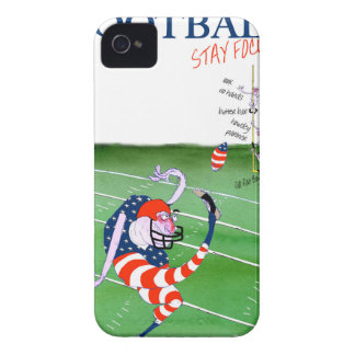 Football stay focused, tony fernandes Case-Mate iPhone 4 case