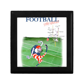 Football stay focused, tony fernandes gift box