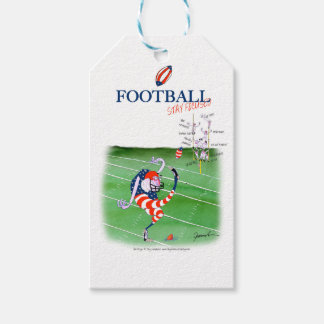 Football stay focused, tony fernandes gift tags