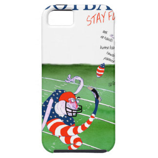 Football stay focused, tony fernandes iPhone 5 case