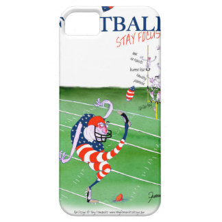 Football stay focused, tony fernandes iPhone 5 cover