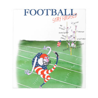 Football stay focused, tony fernandes notepad