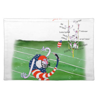 Football stay focused, tony fernandes placemat