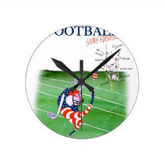 Football stay focused, tony fernandes round clock