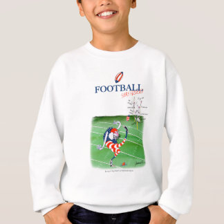 Football stay focused, tony fernandes sweatshirt
