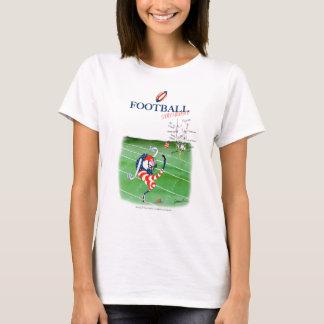 Football stay focused, tony fernandes T-Shirt