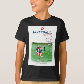 Football stay focused, tony fernandes T-Shirt