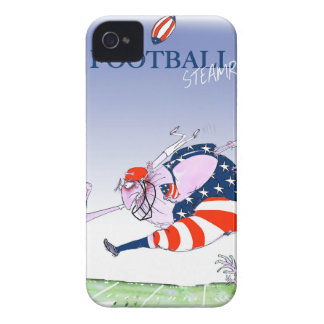 Football steamroller, tony fernandes iPhone 4 Case-Mate cases
