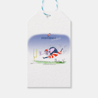 Football steamroller, tony fernandes pack of gift tags
