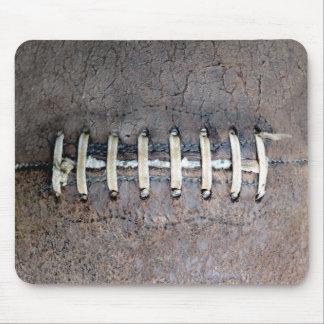 Football Strings horizontal Mousepad
