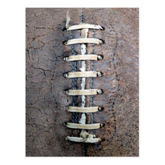 Football Strings vertical Postcard