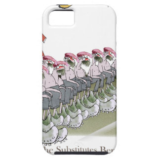 football-substitutes red teams case for the iPhone 5