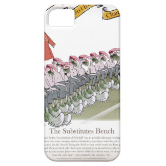 football-substitutes red teams iPhone 5 case
