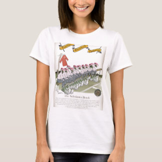 football-substitutes red teams T-Shirt