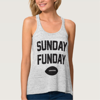 Football Sunday Funday Tank Top