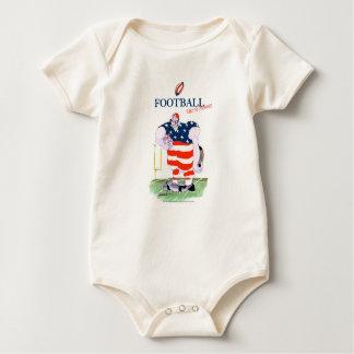 Football take no prisoners, tony fernandes baby bodysuit