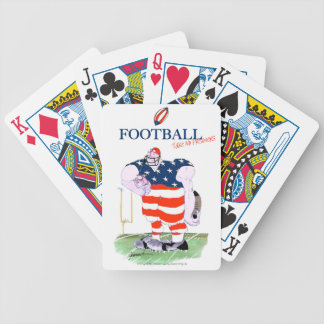 Football take no prisoners, tony fernandes bicycle playing cards