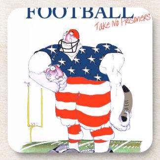 Football take no prisoners, tony fernandes coaster