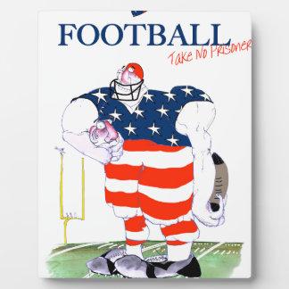 Football take no prisoners, tony fernandes plaque