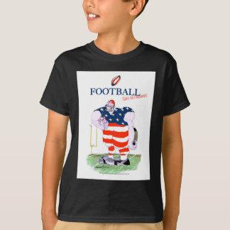 Football take no prisoners, tony fernandes T-Shirt