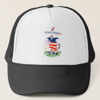 Football take no prisoners, tony fernandes trucker hat