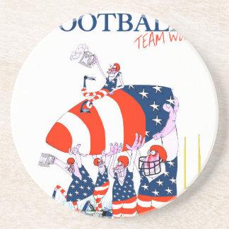 Football team work, tony fernandes coaster