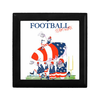 Football team work, tony fernandes gift box