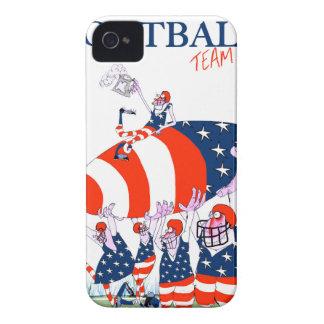 Football team work, tony fernandes iPhone 4 case
