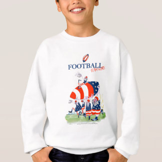Football team work, tony fernandes sweatshirt