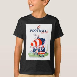 Football team work, tony fernandes T-Shirt