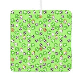 Football Theme with Green Shirts Air Freshener
