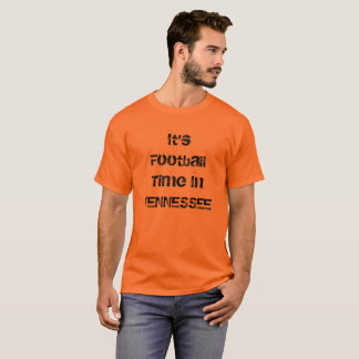 Football Time in Tennessee T-Shirt