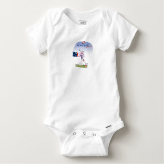 Football touch down, tony fernandes baby onesie