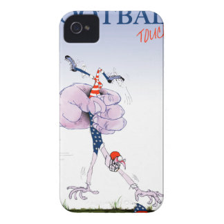 Football touch down, tony fernandes Case-Mate iPhone 4 case