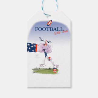Football touch down, tony fernandes gift tags