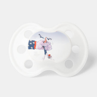 Football touch down, tony fernandes pacifier