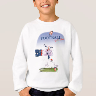 Football touch down, tony fernandes sweatshirt
