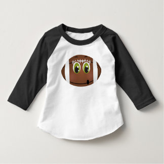 Football Touchdown Kids Game Day Party Brown T Shirt